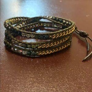 Chan Luu 3 wrap bracelet